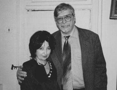 С И.Виноградовым после вечера в Московском Литературном Музее. 2001 год